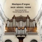 CD 1 Musique d'orgue, couverture album